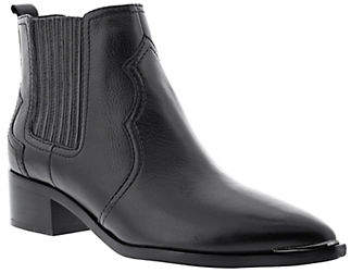 Marc Fisher Yohani Leather Booties