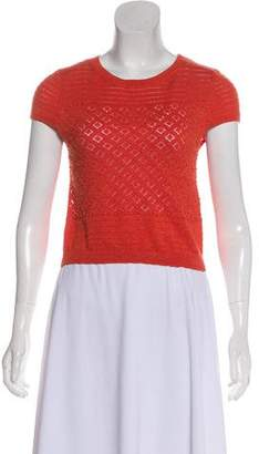 Alice + Olivia Beading Embellished Knit Top w/ Tags