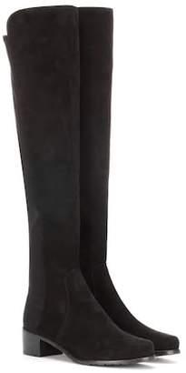 Stuart Weitzman Reserve suede knee-high boots