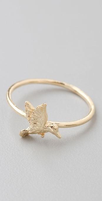 Jacquie Aiche Hummingbird Waif Ring