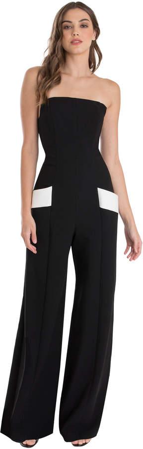 Carmine Color Block Jumpsuit