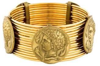 Dolce & Gabbana Wide Coin Bangle