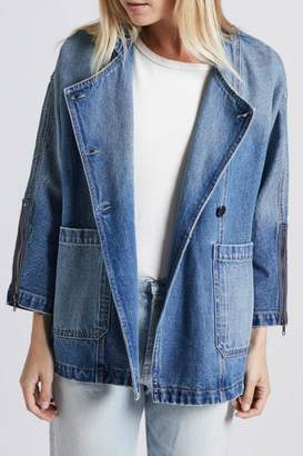 Current/Elliott Current Elliott Crosby Denim Jacket