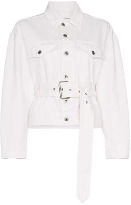 Pswl Denim Jacket With Belt