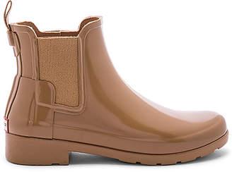 Hunter Refined Chelsea Gloss Boot