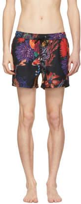 Paul Smith Multicolor Koi Hawaiian Swim Suit
