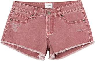 RVCA Women's Hello Mellow Denim Jean Short