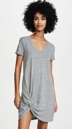 Z Supply The Triblend Side Knot Dress