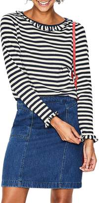Boden Olive Jersey Top