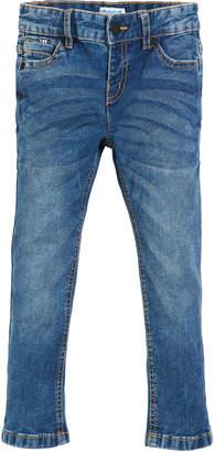 Mayoral Pique Slim-Fit Denim Jeans, Size 3-7