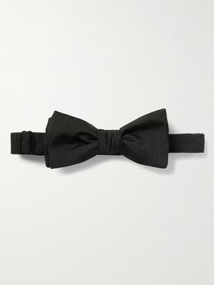 Kingsman + Drake's Self-Tie Silk-Faille Bow Tie