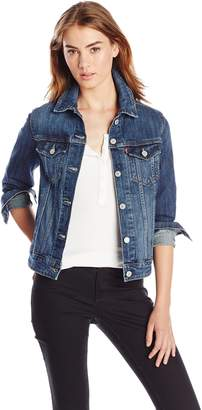 Levi's Women's Classic Trucker Denim Jacket