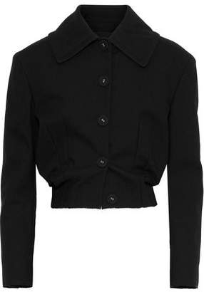 Proenza Schouler Cropped Cotton-Blend Twill Jacket