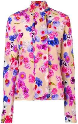 Natasha Zinko pussy bow floral blouse