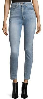 Alice + Olivia AO.LA by Alice+Olivia High-Rise Ankle Skinny Jeans
