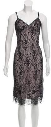 Nicole Miller Sleeveless Lace Dress