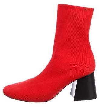 Celine Knit Sock Booties