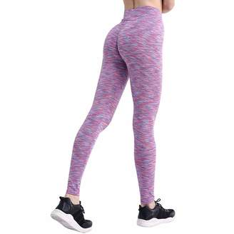 world-palm Leggings S-XL 3 Colors Casual Push Up Leggings Women Summer Workout Polyester Jeggings,S