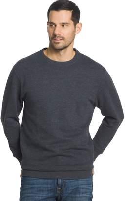Arrow Men's Classic-Fit Sueded Fleece Crewneck Sweater