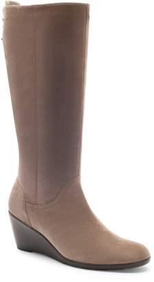 Blondo Larissa Waterproof Wedge Knee High Boot