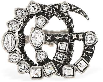 9c459a33cdb ... Gucci Gg Marmont Crystal Ring