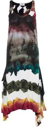 Acne Studios Saleh Tie-dyed Crepe Midi Dress