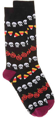 K. Bell Candy Corn Crew Socks - Men's
