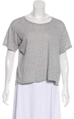 Bassike Short Sleeve Knit Top