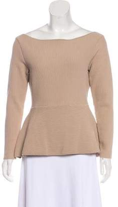 Acne Studios Long Sleeve Flared Sweater
