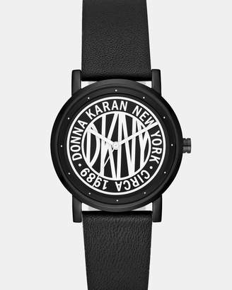 DKNY Soho Black Analogue Watch