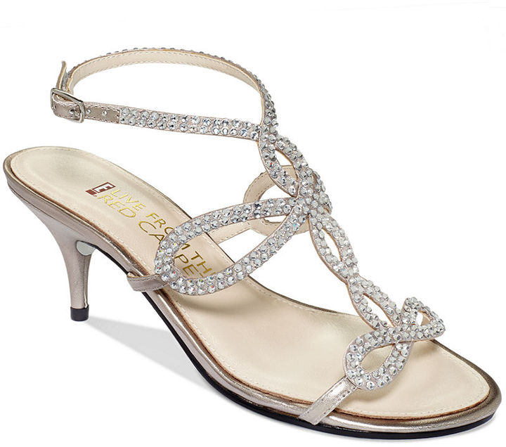 Red Carpet E! Live From the Kelli Evening Sandals