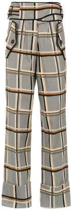 Framed Checklist pantalones