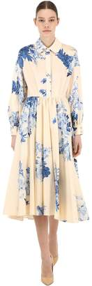 Antonio Marras Floral Print Light Cotton Dress