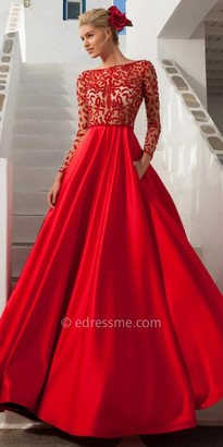 Tarik Ediz Hawai Evening Dress $1,324 thestylecure.com