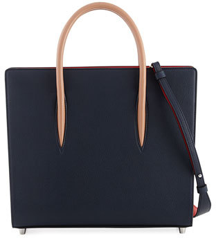 Christian Louboutin  Christian Louboutin Paloma Medium Calf Tote Bag,