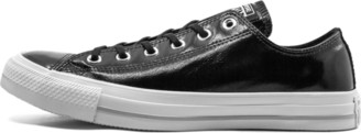 Converse CTAS OX 'Crinkled Patent Leather' Shoes - Size 8.5W