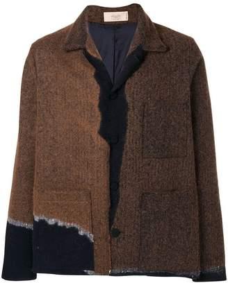Maison Flaneur contrast button jacket