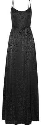L'Agence Shani Silk-Jacquard Gown