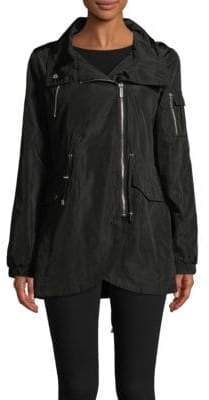 French Connection Asymmetrical-Zip Jacket