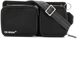 Off-White logo-print belt bag