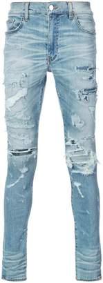 Amiri Super Destroy skinny jeans