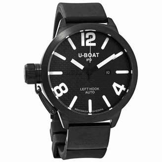 U-Boat 1024 Classico Men's Carbon Fiber Dial Automatic Poly Strap Watch