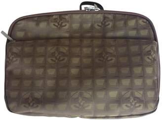 Chanel Cloth vanity case