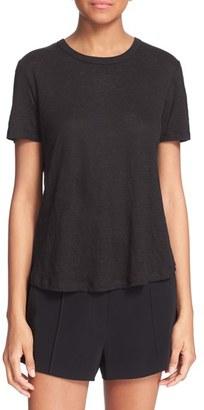 Women's A.l.c. 'Tesi' Surplice Back Linen Tee $115 thestylecure.com