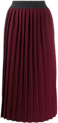 Fabiana Filippi high-rise pleated skirt