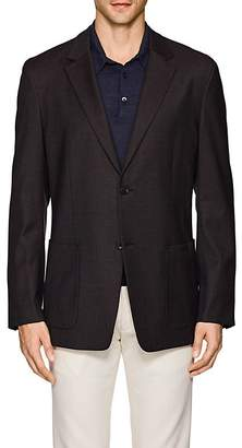 Theory MEN'S SIMONS NAILHEAD WOOL-BLEND TWO-BUTTON SPORTCOAT