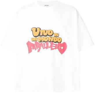 Sunnei Vivo In Un Mondo T-shirt