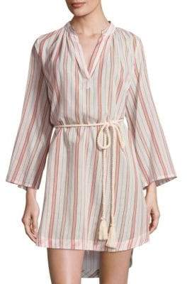 Eberjey Patio Stripes Darwin Cotton Cover-Up
