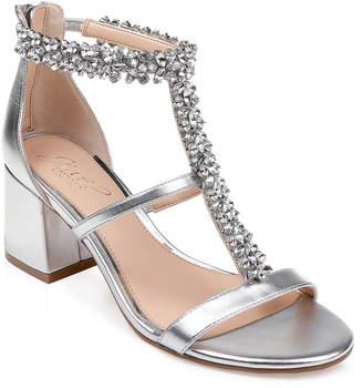 d01a98c5e64 Badgley Mischka Janica Block Heel Sandal