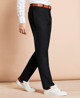 Brooks Brothers Wool-Blend Twill Suit Trousers